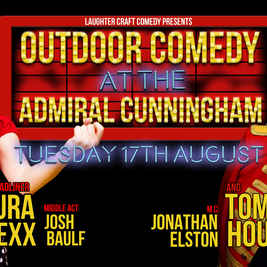 Outdoor Comedy at the AC August