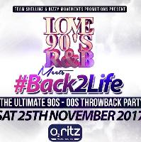 Love 90's R&B meets #Back2Life