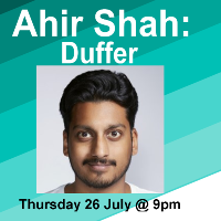 Ahir Shah: Duffer at the Oxford Comedy Festival