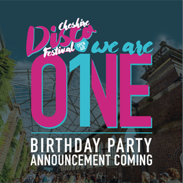 Cheshire Disco Festival: 1st Birthday special