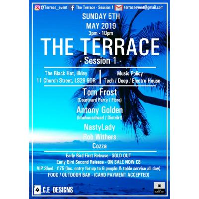 The Terrace - Session 1 Tickets | The Black Hat Ilkley | Sun