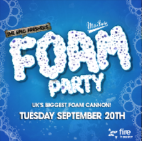 The Epic Foam Rave @ Fire