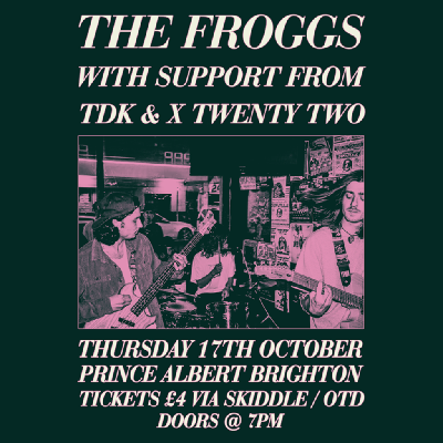 THE FROGGS AND FRIENDS @THE PRINCE ALBERT