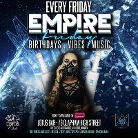Empire Friday AfterParty Carnival Bank Holiday weekend