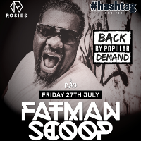 Hashtag pres. Fatman Scoop