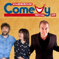 Rob Rouse and Boothby Graffoe .. Knaresborough Comedy Festival
