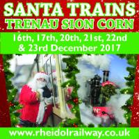 Santa Trains - Trenau Siôn Corn