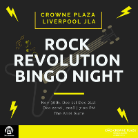 Rock Revolution Bingo Night