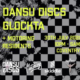 Motoring presents: Dansu Discs | GLOCKTA