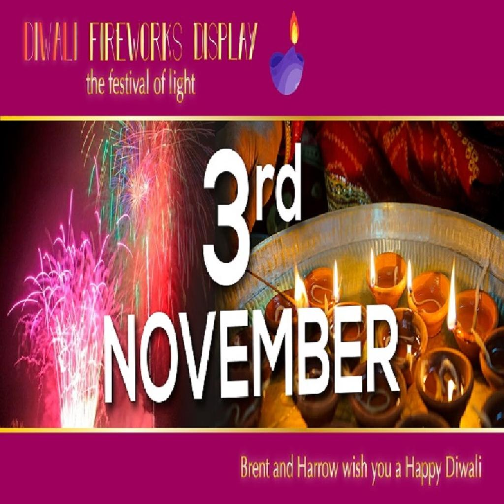 Brent, Harrow and greater London Diwali celebration 3rd November
