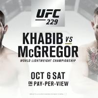 UFC 229 Live Screening - Mcgregor vs Khabib