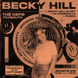 BECKY HILL (official afterparty)