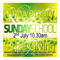 Sunday School Anniversary and Prize Giving