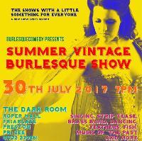 Summer Vintage Burlesque Show
