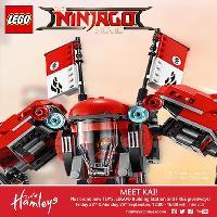 Meet Kai at Hamleys with the LEGO® Ninjago™ Movie Tour