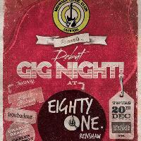 Gig Night at 81 Renshaw