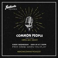 Common People: Open Mic Night