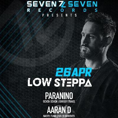 Seven Seven Records presents LOW STEPPA