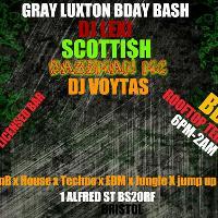Gray Luxton Bday Bash