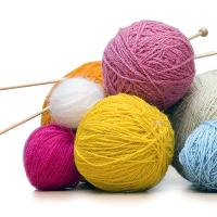 Learn to knit, sew & crochet