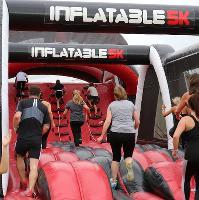 Inflatable5K Santa Run