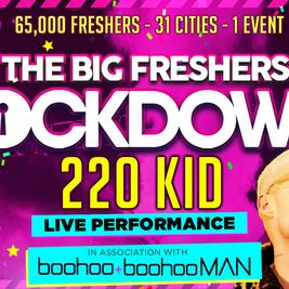 Swansea - Big Freshers Lockdown - in association with Boohoo