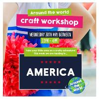 Around the World workshops at Cannon Park Shopping Centre!