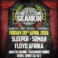 SCS Presents: Sleeper, Somah, Floyd Afrika and more!