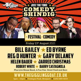 The Giggling Goat & Just The Tonic presents Bill Bailey + Guests