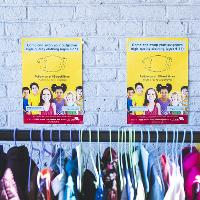 Hubbub 'Street Store' pop-up children