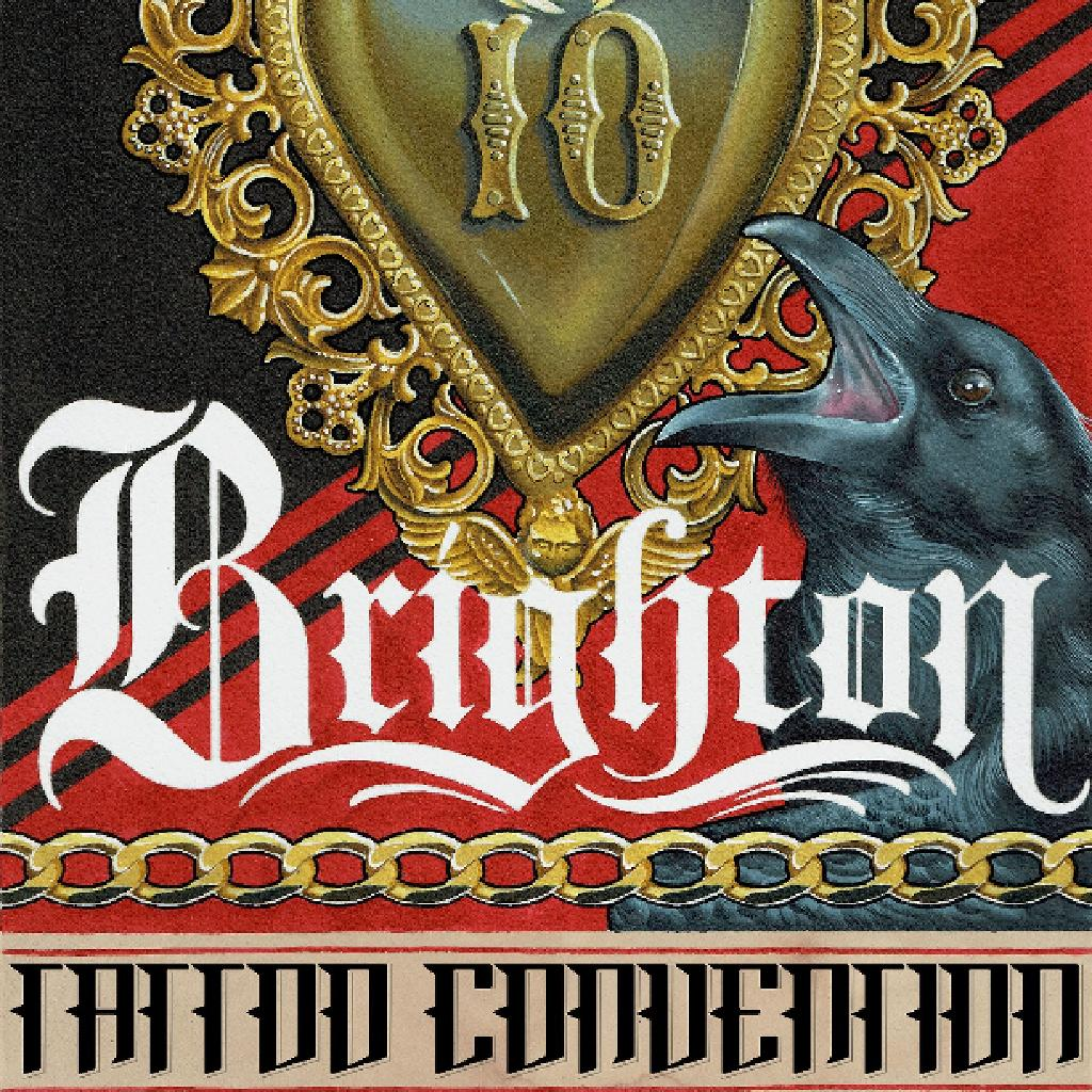 Brighton tattoo convention 2017 tickets brighton centre for Upcoming tattoo conventions