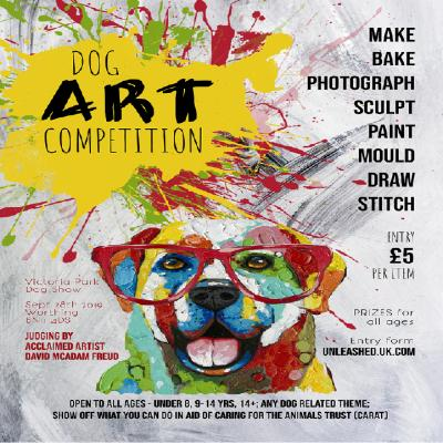 Dog Art Competition