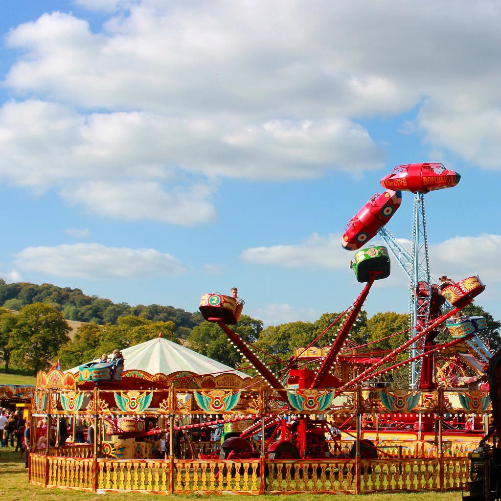 Vintage funfair in Reading for the Easter Holidays!