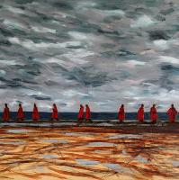 Red Cloaks - A Contemporary Art Exhibition by Davy Macdonald