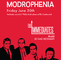 Modrophenia: with The Immediates & DJ Gaz Heckman
