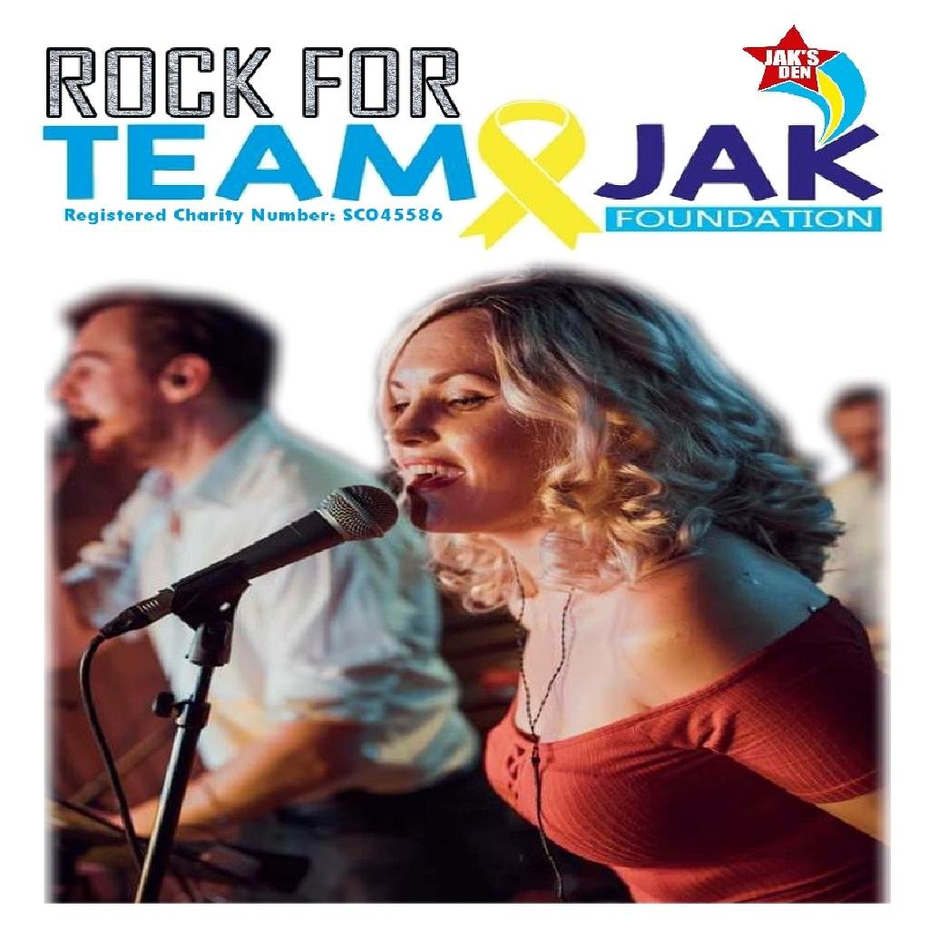 Rock for Team Jak - Charity Night.