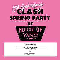 Clash 15th Anniversary Spring Party