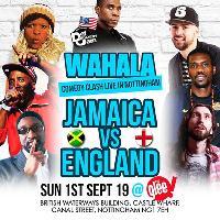 Wahala Comedy Clash: Jamaica Vs England