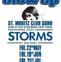 BLOW UP feat. STORMS live + BLOW UP DJs