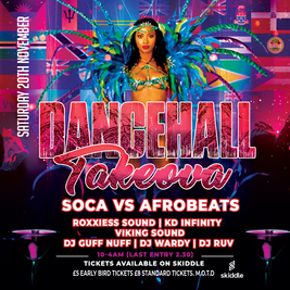 dancehall takeova @ the 2funky lounge, leicester