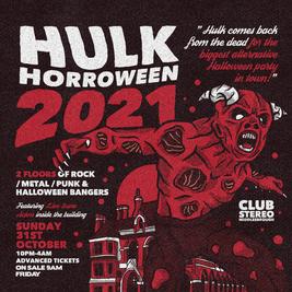 HULK HORRORWEEN 2021