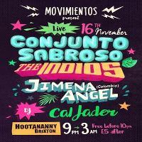 Conjunto Sabroso + The Indios + Jimena Angel - Live Latin Music
