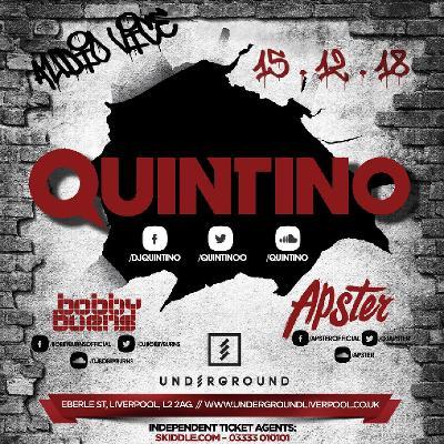 Audio Vice.... Featuring Quintino!!
