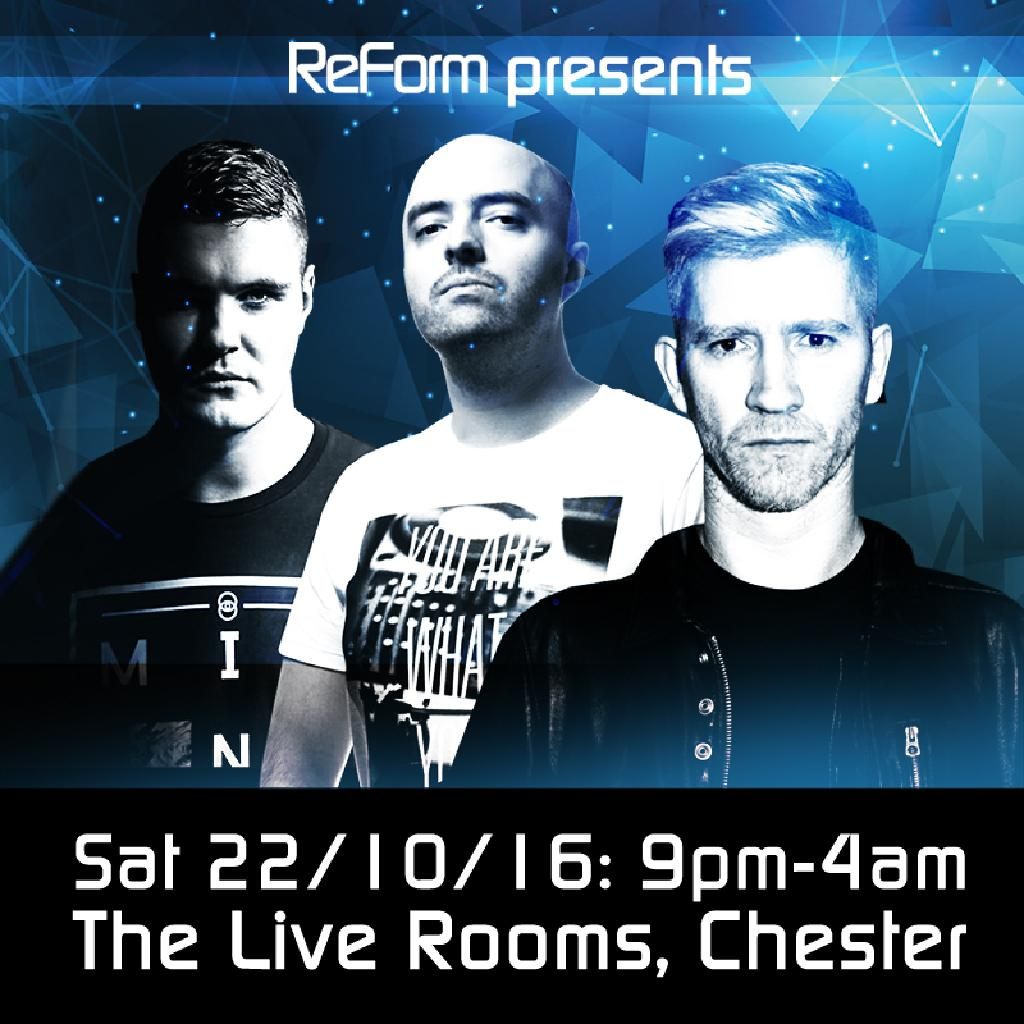 Live Rooms Chester Events