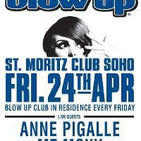 BLOW UP feat. ANNE PIGALLE + MZ MOXY live + BLOW UP DJs