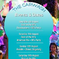 carwash - outdoor hot tub cinema party chelmsford