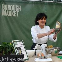 Migration of Taste Cooking Demonstration at Borough Market