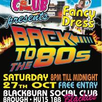 Back to the 80s Music and Fancy Dress