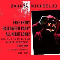 Fright Night Free Halloween Rave