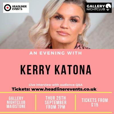An evening with Kerry Katona